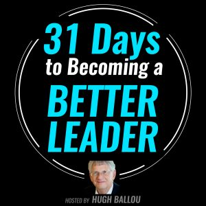 31 Days Better Leader Podcast Cover