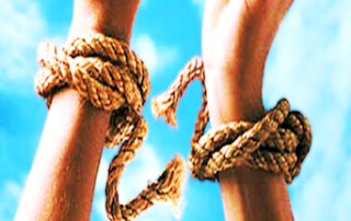 untie